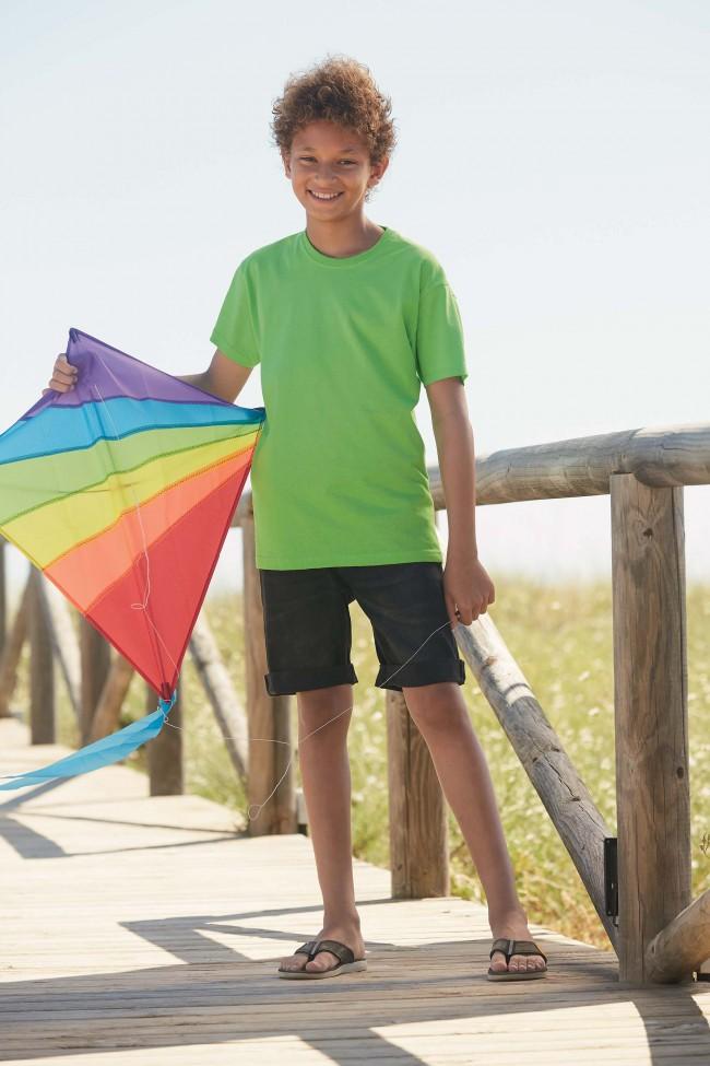 T-shirt enfant Original-T SC61019 - Lime en vente chez Textile Direct