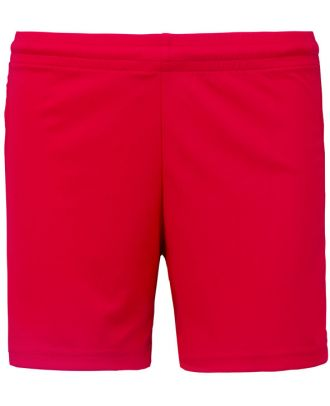 Short de jeu femme PA1024 - Sporty Red