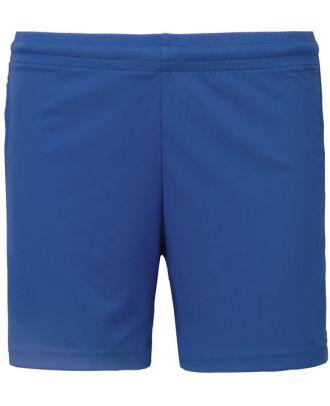 Short de jeu femme PA1024 - Sporty Royal Blue