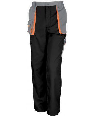 Pantalon Lite work-guard R318X - Black / Grey / Orange