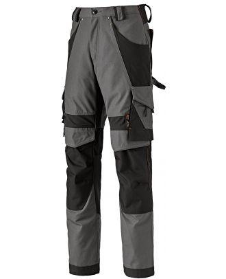 Pantalon de travail INTERAX TIM0A4QTA - Grey / Black