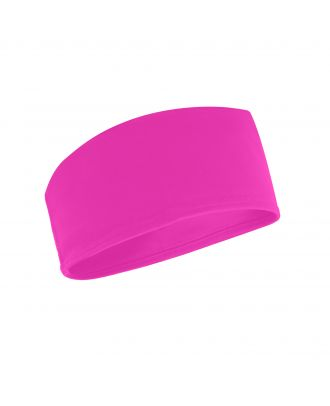 Bandeau technique running CROSSFITTER rose fluo