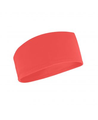 Bandeau technique running CROSSFITTER corail fluo