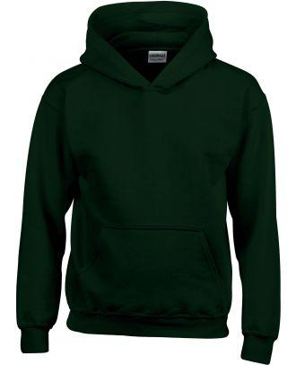 Sweat-shirt enfant à capuche Heavy Blend™ 18500B - Forest Green