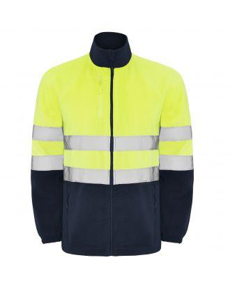 Veste polaire haute visibilité ALTAIR marine / jaune fluo