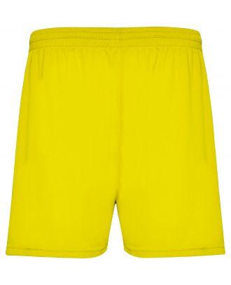 Short sport CALCIO jaune