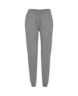 Pantalon femme de survêtement ADELPHO WOMAN gris chiné