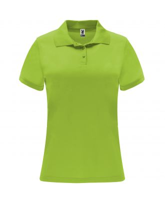 Polo manches courtes MONZHA WOMAN lime