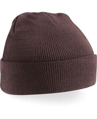 Bonnet original à revers B45 - Chocolate-One Size