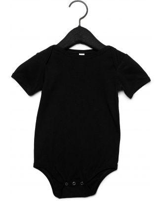 Body manches courtes bébé - Black