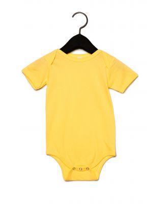 Body manches courtes bébé - Yellow
