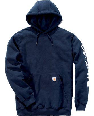 Sweat-shirt de travail à capuche CARK288 - Navy