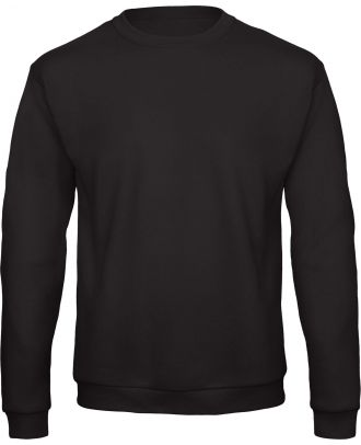 Sweatshirt col rond ID.202 WUI23 - Black de face
