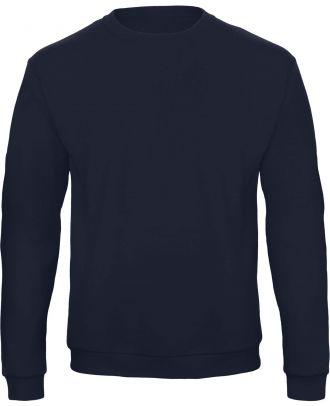 Sweatshirt col rond ID.202 WUI23 - Navy de face