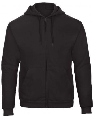 Sweatshirt capuche zippé ID.205 - Black