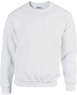 Sweat-shirt col rond Heavy Blend™ GI18000 - White