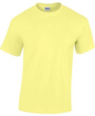 T-shirt homme manches courtes Heavy Cotton™ 5000 - Cornsilk