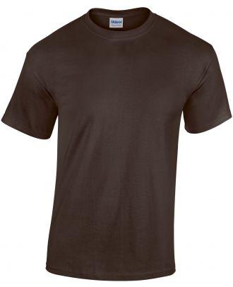 T-shirt homme manches courtes Heavy Cotton™ 5000 - Dark Chocolate