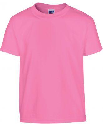 T-shirt enfant manches courtes heavy 5000B - Azalea