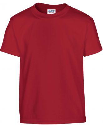 T-shirt enfant manches courtes heavy 5000B - Cardinal Red