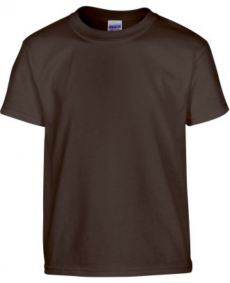 T-shirt enfant manches courtes heavy 5000B - Dark Chocolate