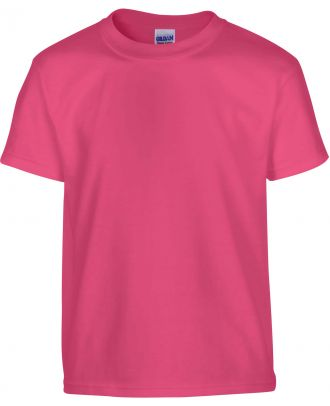 T-shirt enfant manches courtes heavy 5000B - Heliconia