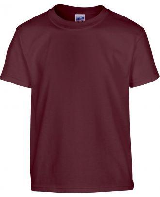 T-shirt enfant manches courtes heavy 5000B - Maroon