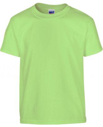 T-shirt enfant manches courtes heavy 5000B - Mint Green