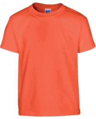 T-shirt enfant manches courtes heavy 5000B - Orange
