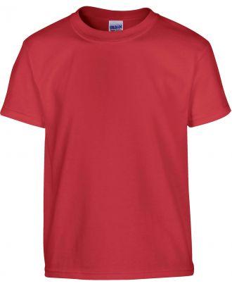 T-shirt enfant manches courtes heavy 5000B - Red