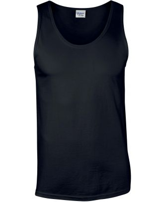 Débardeur homme softstyle GI64200 - Black