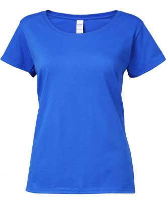 T-shirt femme Softstyle® Deep Scoop 64550L - Royal Blue