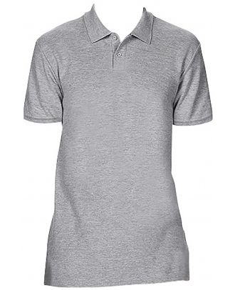 Polo homme Softstyle double piqué GI64800 - RS Sport Grey