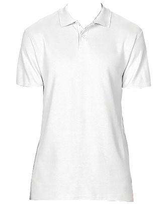 Polo homme Softstyle double piqué GI64800 - White