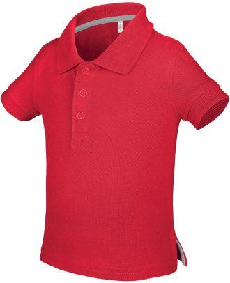 Polo bébé manches courtes K248 - Red