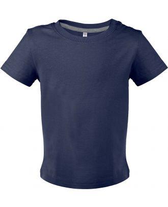 T-shirt bébé manches courtes K363 - Navy
