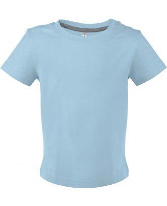 T-shirt bébé manches courtes K363 - Sky Blue