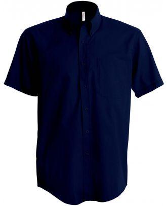 Chemise manches courtes enfant popeline K521 - Navy