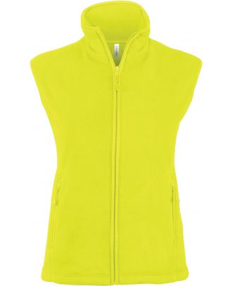 Gilet femme micropolaire Mélodie K906 - Fluorescent Yellow