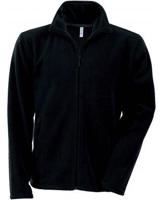 Veste enfant micropolaire zippée K920 - Black