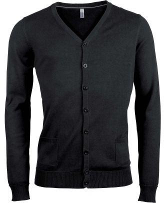 Cardigan boutonné K979 - Black