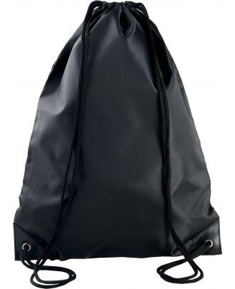 Sac à dos avec cordelettes KI0104 - Black - 44 x 34 cm