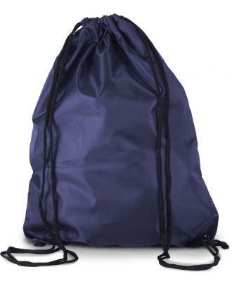Sac à dos avec cordelettes KI0104 - PATRIOT BLUE - 44 x 34 cm