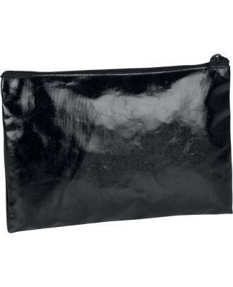 Pochette / étui en coton enduit personnalisable KI0714 - Black