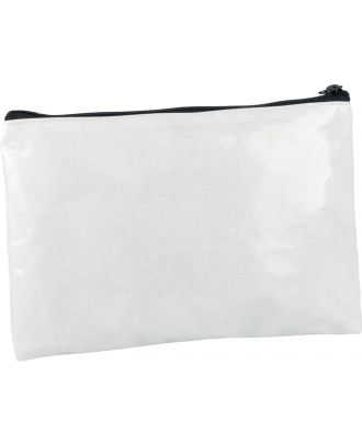 Pochette / étui en coton enduit personnalisable KI0714 - White