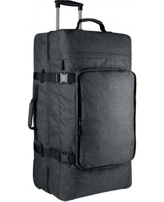 Grand sac trolley à double compartiment KI0820 - Dark Titanium