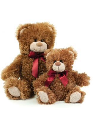 Peluche Ours MONTY - Mid Brown