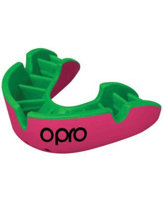 Protège dents silver OP400 - Pink / Fluoro Green