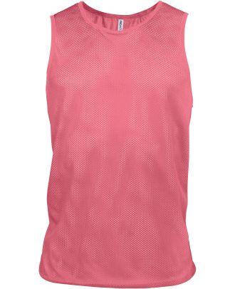 Chasuble en filet léger multisports PA043 - Fluorescent Pink
