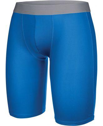 Sous-short long enfant sport PA008 - Sporty Royal Blue